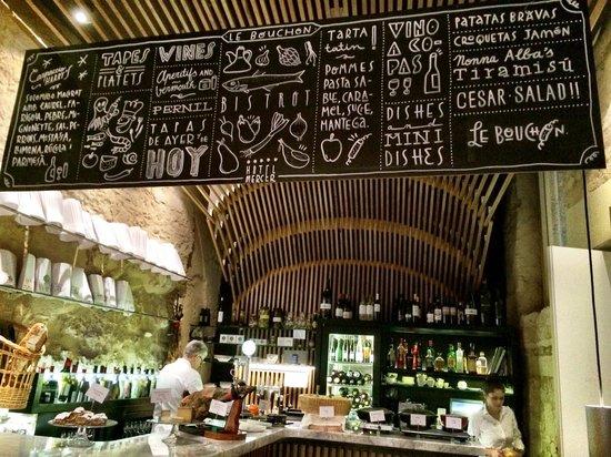 Mercer Hotel Barcelona : Bouchon - small tapas restaurant