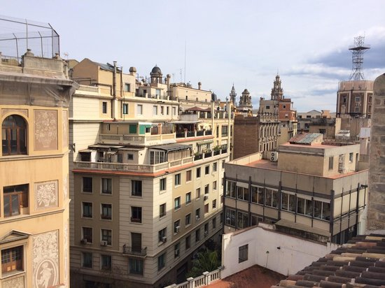 Mercer Hotel Barcelona: View from rooftop terrace