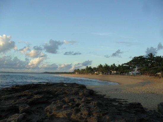 Hotel Baia Cabralia: praia de Cabralia