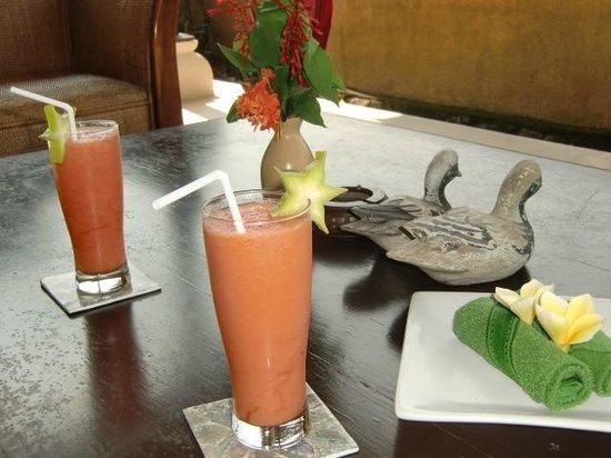 Mandala Desa : welcome drink