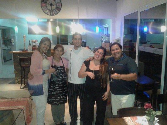 Villa Mansa Wine Hotel & Spa : vanessa, rosa, Gonzalo, reinaldo