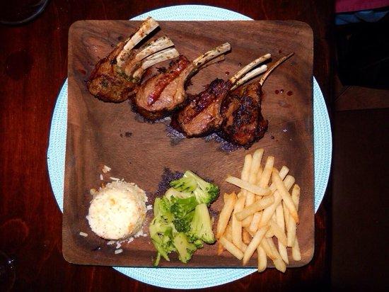 El Gaucho Argentine Grill: Rack of Lamb