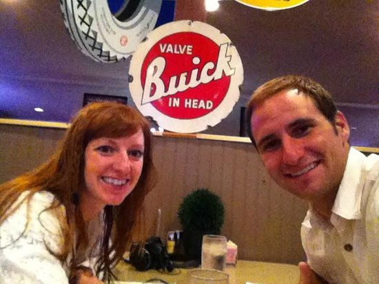 Vic's Route 6 Grillhouse: Selfie at Vic's