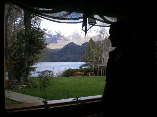 Lago Gutierrez Lodge: Vista desde el comedor
