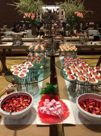 Grand InterContinental Seoul Parnas : Great Strawberry Buffet