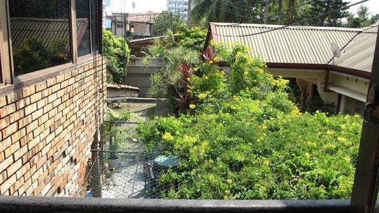 Colombo Lavinia Beach Hostel : View from window