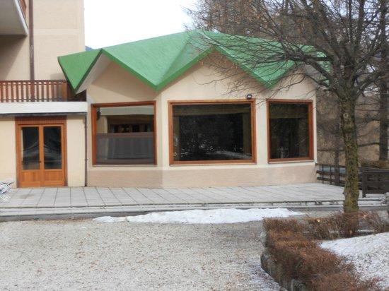 Linta Park Hotel: Sala da pranzo