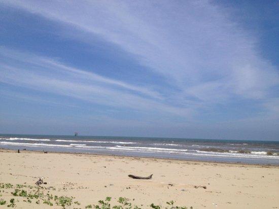 Billionth Barrel Monument: The sea side