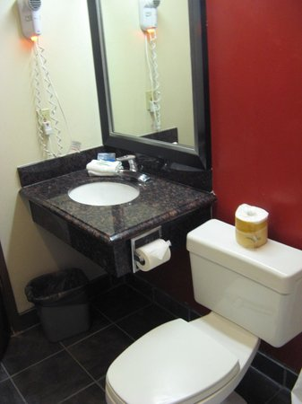 Red Roof Inn & Suites Monterey: Bathroom