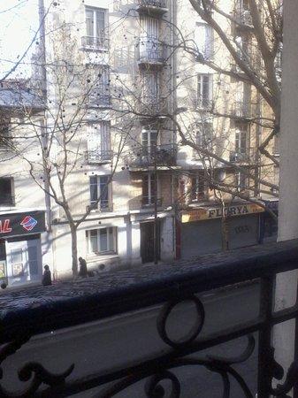 Belgrand Hotel : Vista da Janela do Quarto