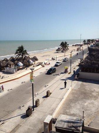 Playa Linda Hotel : balcony view