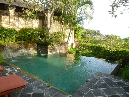 AYANA Resort and Spa : ヴィラの部屋のプライベートプール