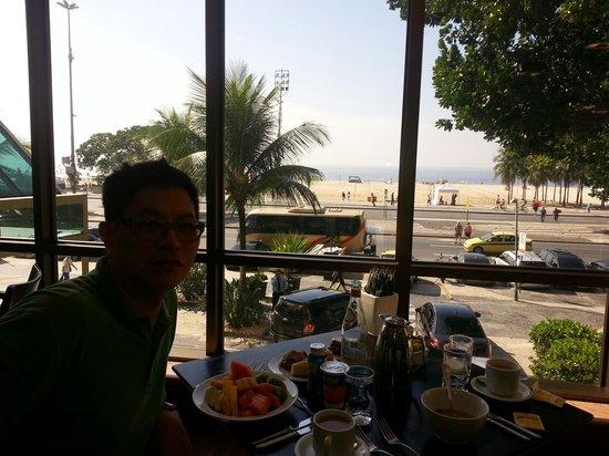 JW Marriott Hotel Rio de Janeiro : Nice beach,nice breakfast