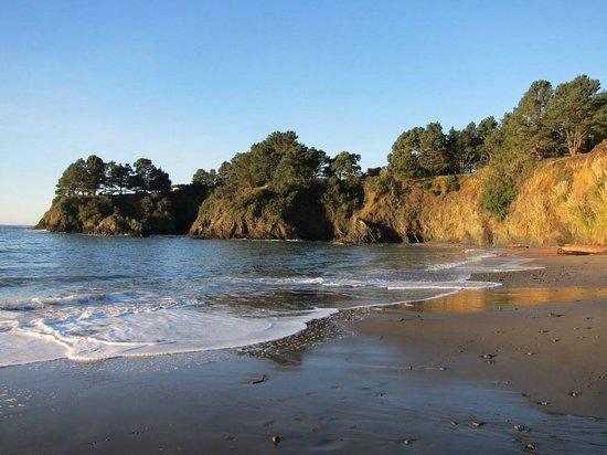 Cobbler's Walk Mendocino: A five minute walk to Van Damme State Park beach