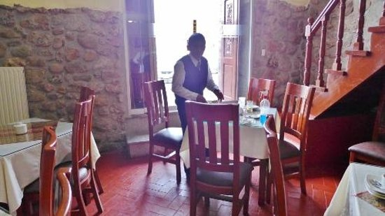 Siete Ventanas Hotel: Breakfast room