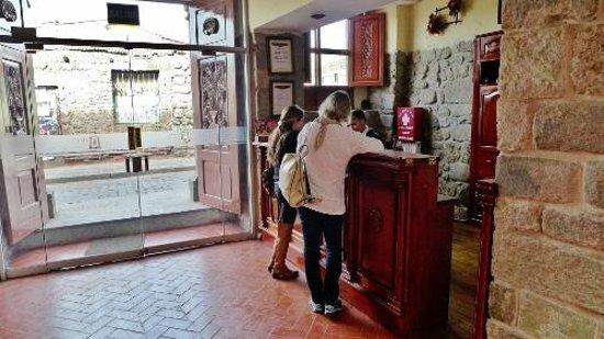 Siete Ventanas Hotel : Reception