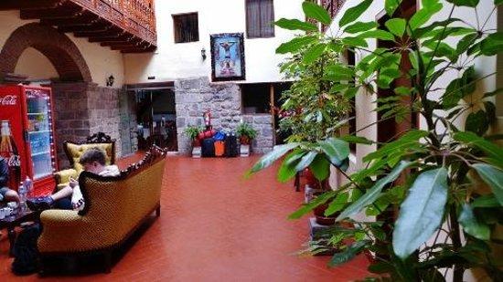 Siete Ventanas Hotel: Lobby