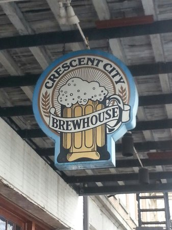 Crescent City Brewhouse : Outside Sign