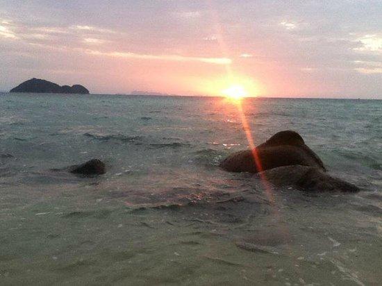 Beach 99 Koh Phangan: Sunset view