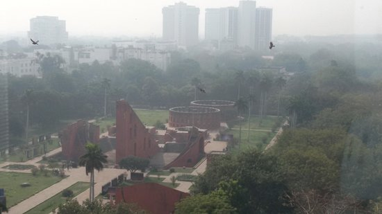 The Park New Delhi: A view of jantar mantar from the hotel