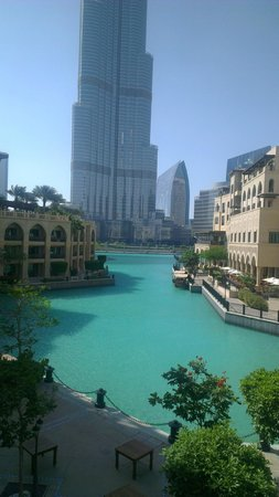 The Palace Downtown Dubai: Looking out towards some of the rooms