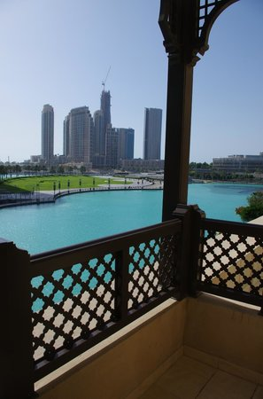 The Palace Downtown Dubai: Looking out from balcony