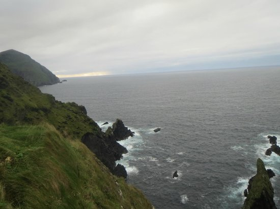 Clare Island Lighthouse: View from Cliff Corner