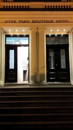 Hyde Park Boutique Hotel: Facciata Esterna Hotel