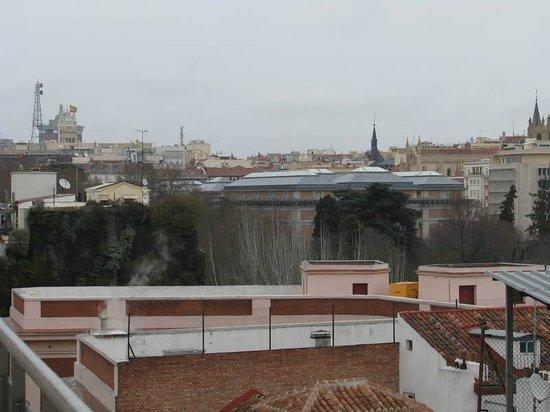 Hotel Paseo del Arte: 716号室テラスからの風景