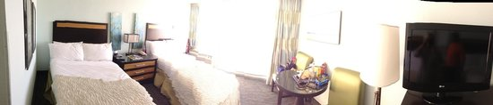 Tides Folly Beach: Panoramic view of the room