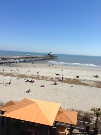 Tides Folly Beach: Picture from the baloney