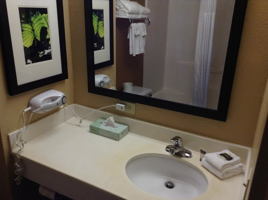 Extended Stay America - Ft. Lauderdale - Convention Center - Cruise Port: Bathroom