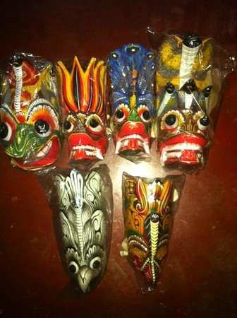 Gamage Stores: Traditional masks see cultural dancing