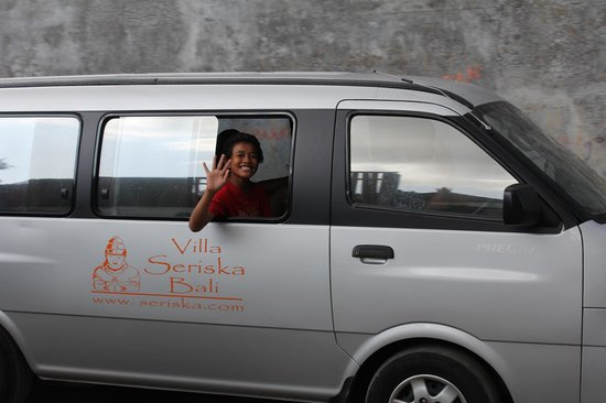 Villa Seriska Satu: The van used by the Villa
