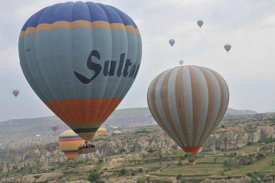 Kapadokya Balon Turu: Panoramic view