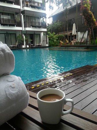 RarinJinda Wellness Spa Resort: View from deck chair