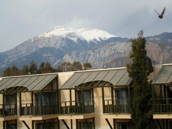Limak Limra Hotel : Vue de ma chambre