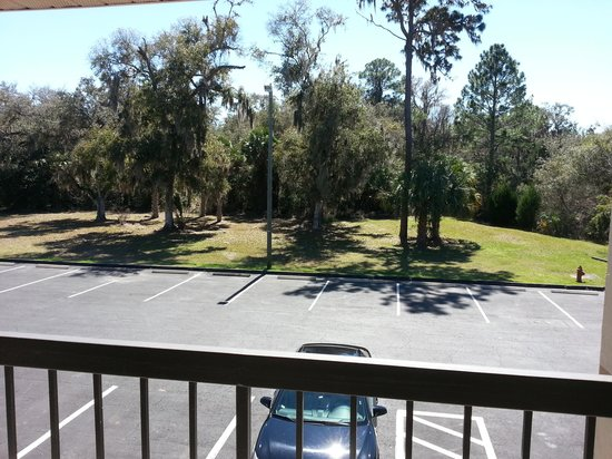 Quality Inn Crystal River : vue du parking