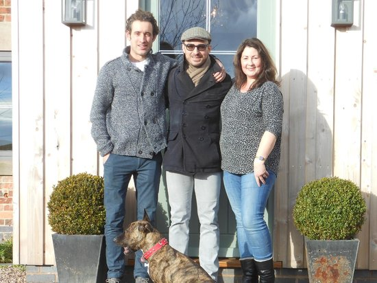 Hayeswood Lodge Boutique Bed & Breakfast: With Dan and Katie (and Mimi!)