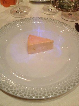 Le Parc Hotel Restaurant & Spa : Munster aux marc de Gewürtz