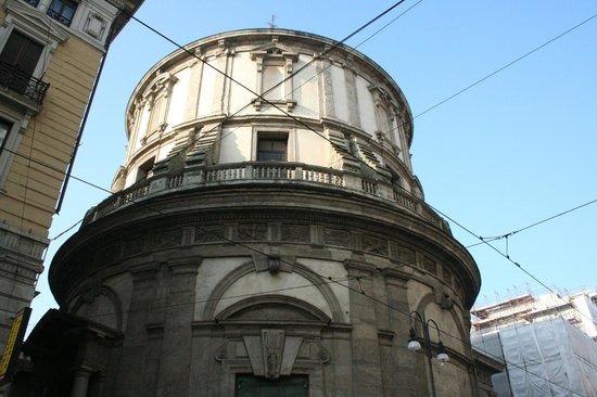 Civico Tempio di San Sebastiano : esterno