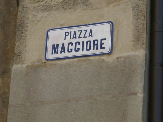 Piazza Maggiore : What is in a Name?