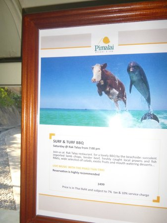 Pimalai Resort and Spa: Surf and turf special