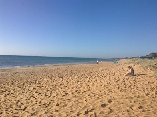 Best Western Frankston International Motel : The beach at Frankston, five minutes away