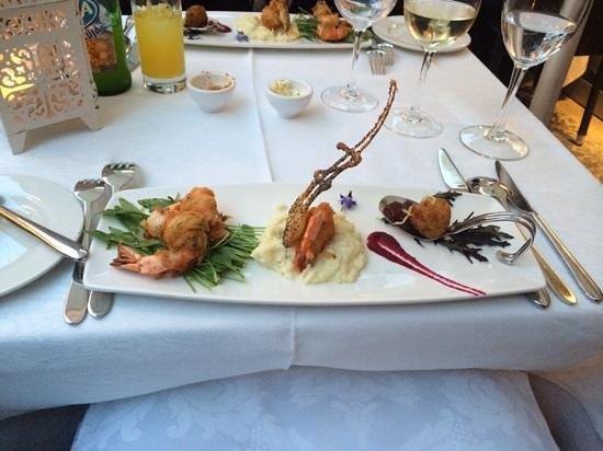 Restaurante Do Forte : forret