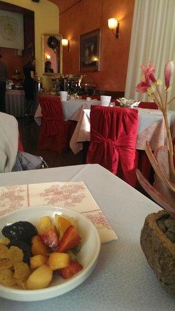 Colomba d'Oro Hotel : Sala colazione