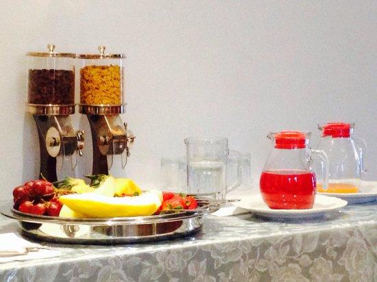 Hotel Vittoria : La colazione