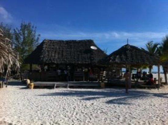 Kendwa Rocks Beach Hotel : Le bar