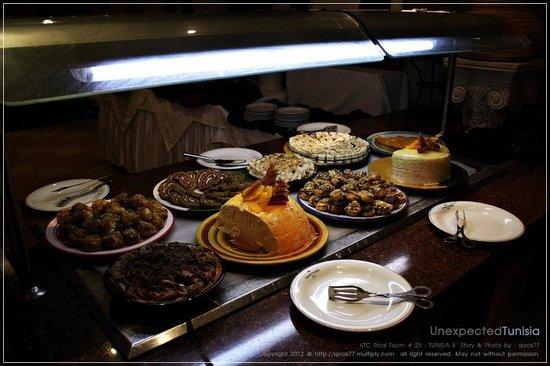 Hotel Ras El Ain Tozeur : buffet