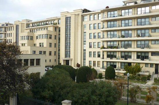 Hôtel de L'hôspitalet Saint Charles : Vue des balcons des chambres